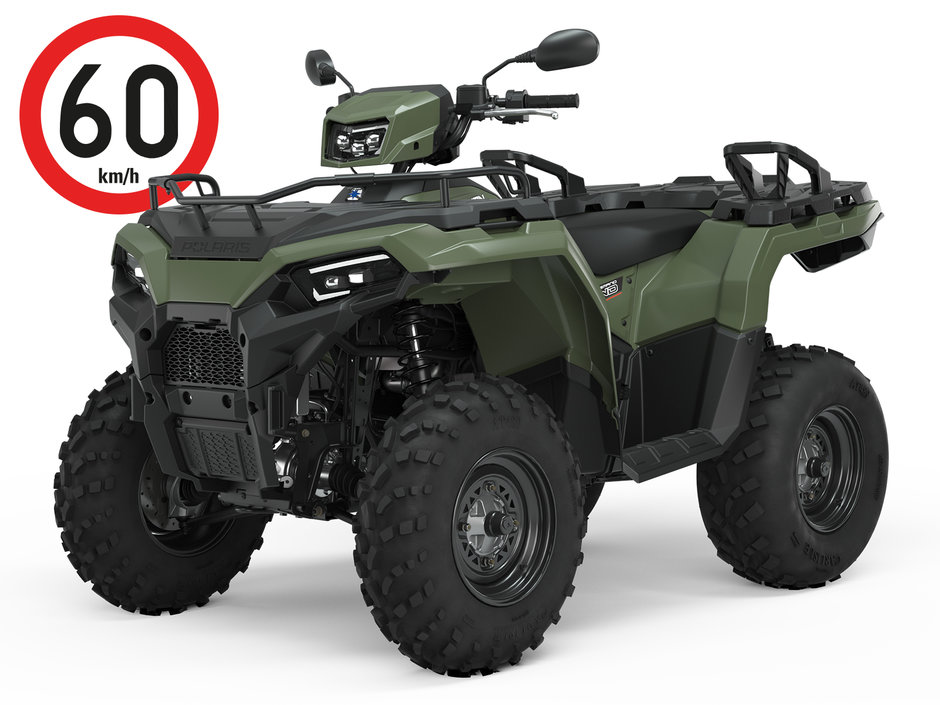 2021 sportsman 570 tractor t3b sage green 3q reference 1