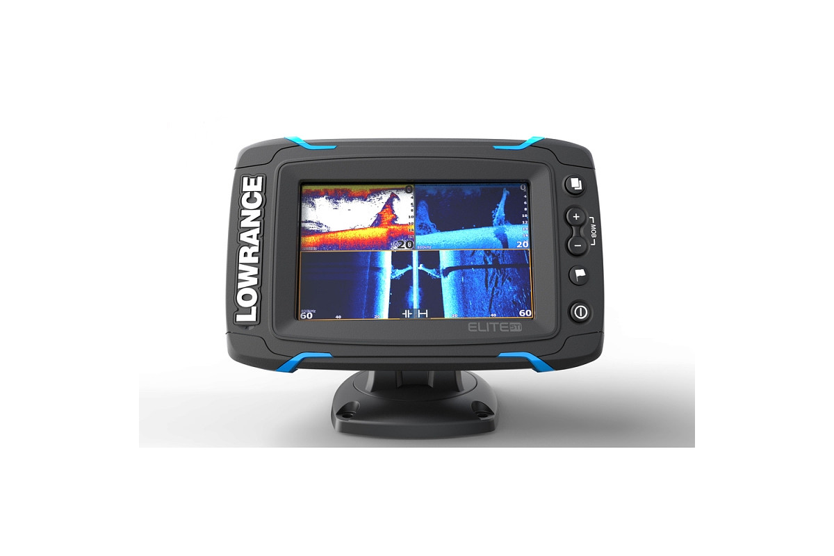 Lowrance Elite 5Ti Mid High TotalScan 1