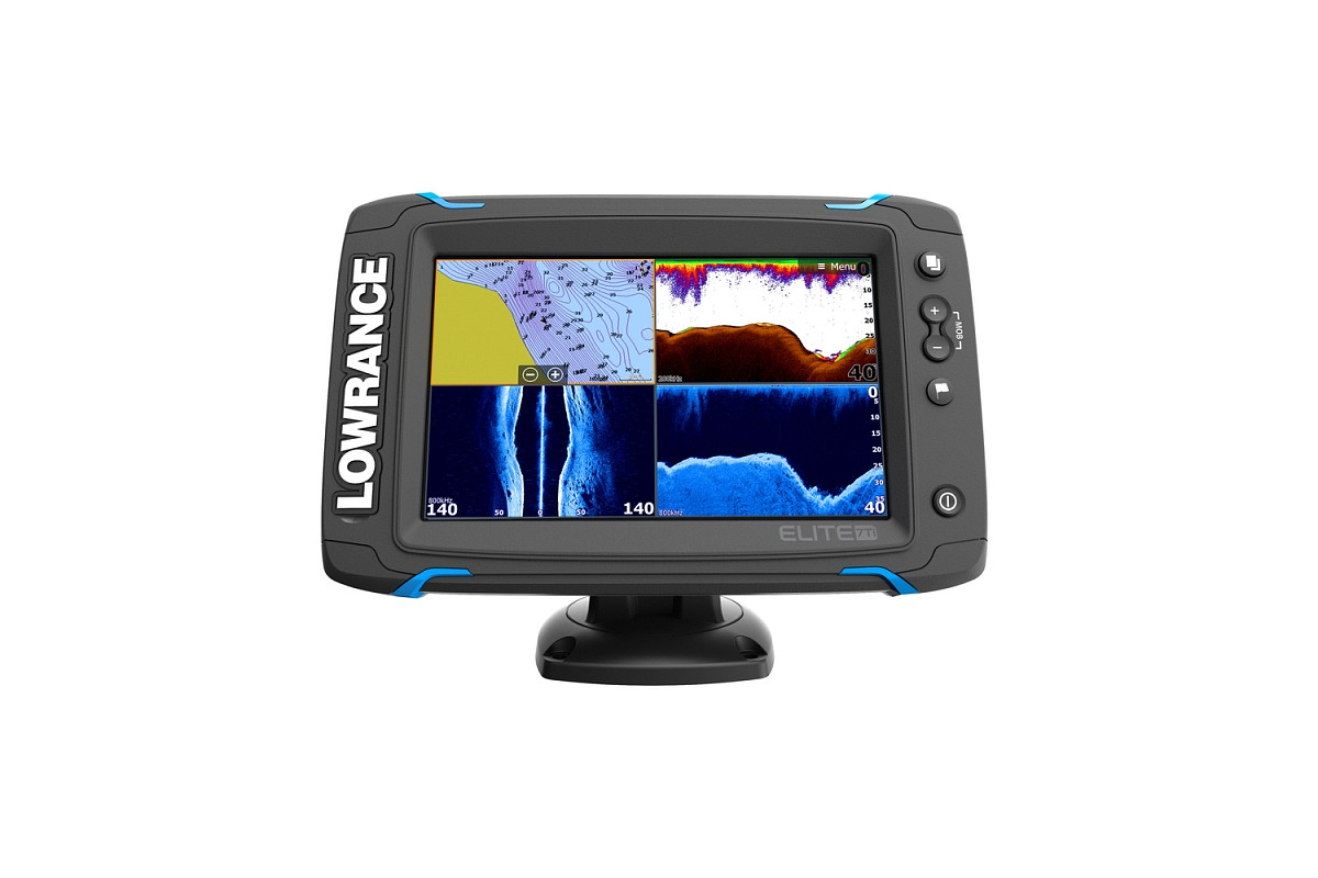 Lowrance Elite 7 Ti Mid High DownScan 1