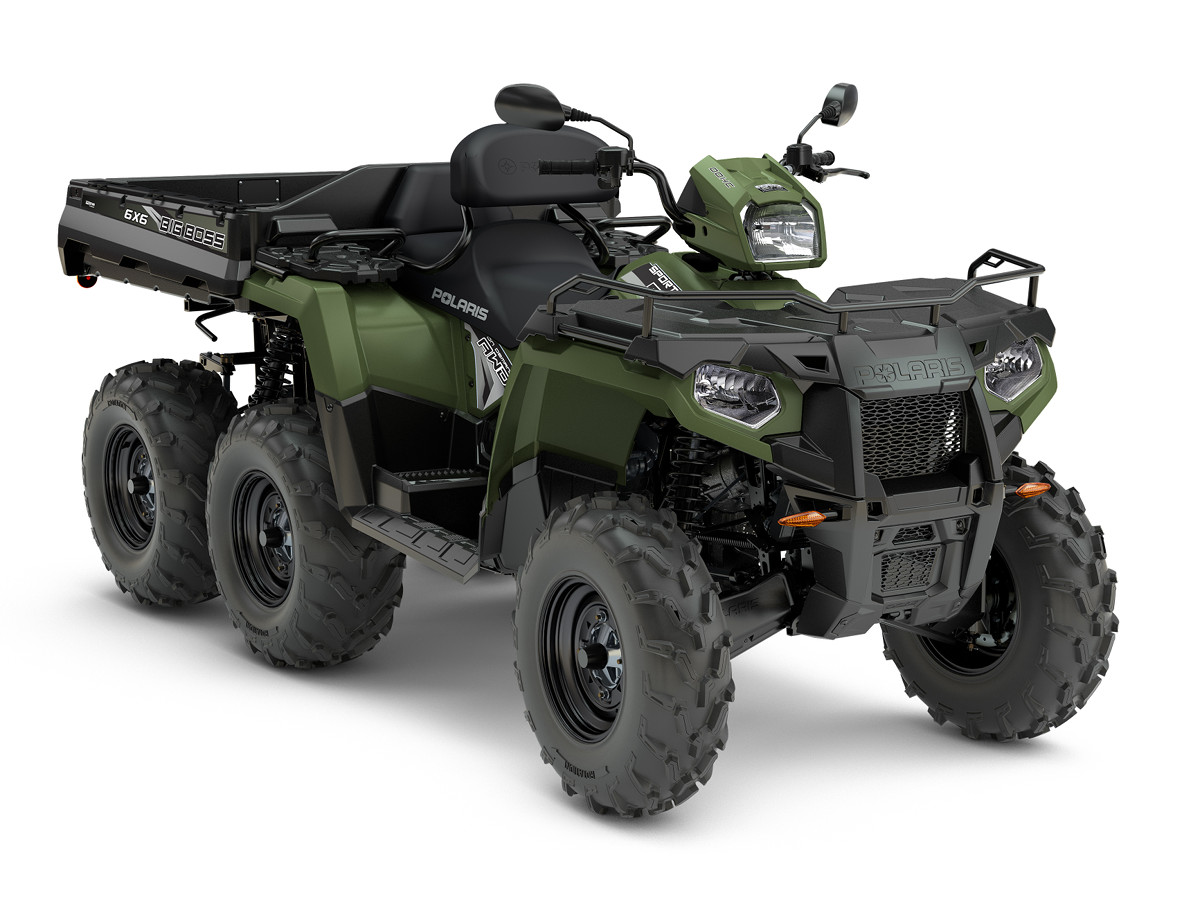 Polaris Sportsman 570 EFI EPS 6x6 Big Boss 1