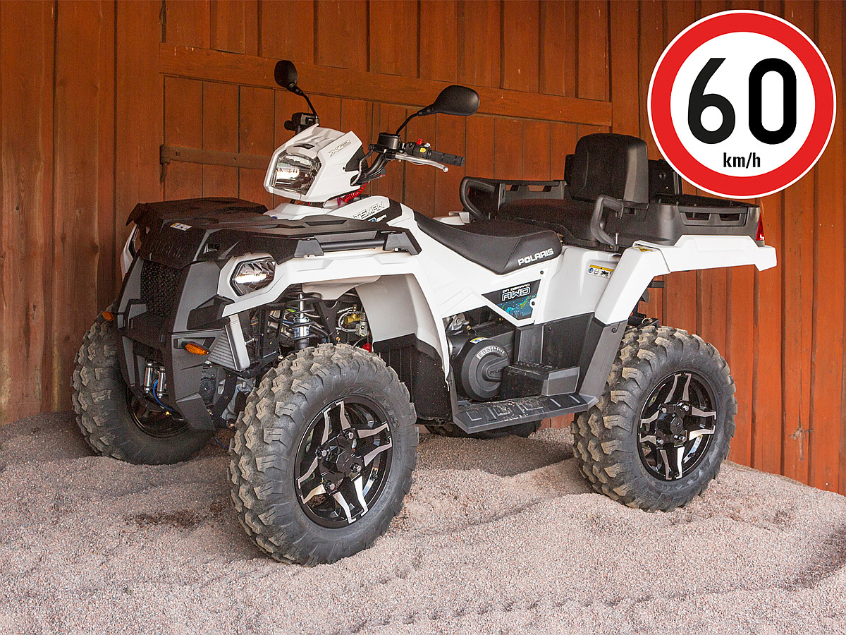 Polaris Sportsman 570 EFI EPS X2 Nordic Pro White Lightning 1