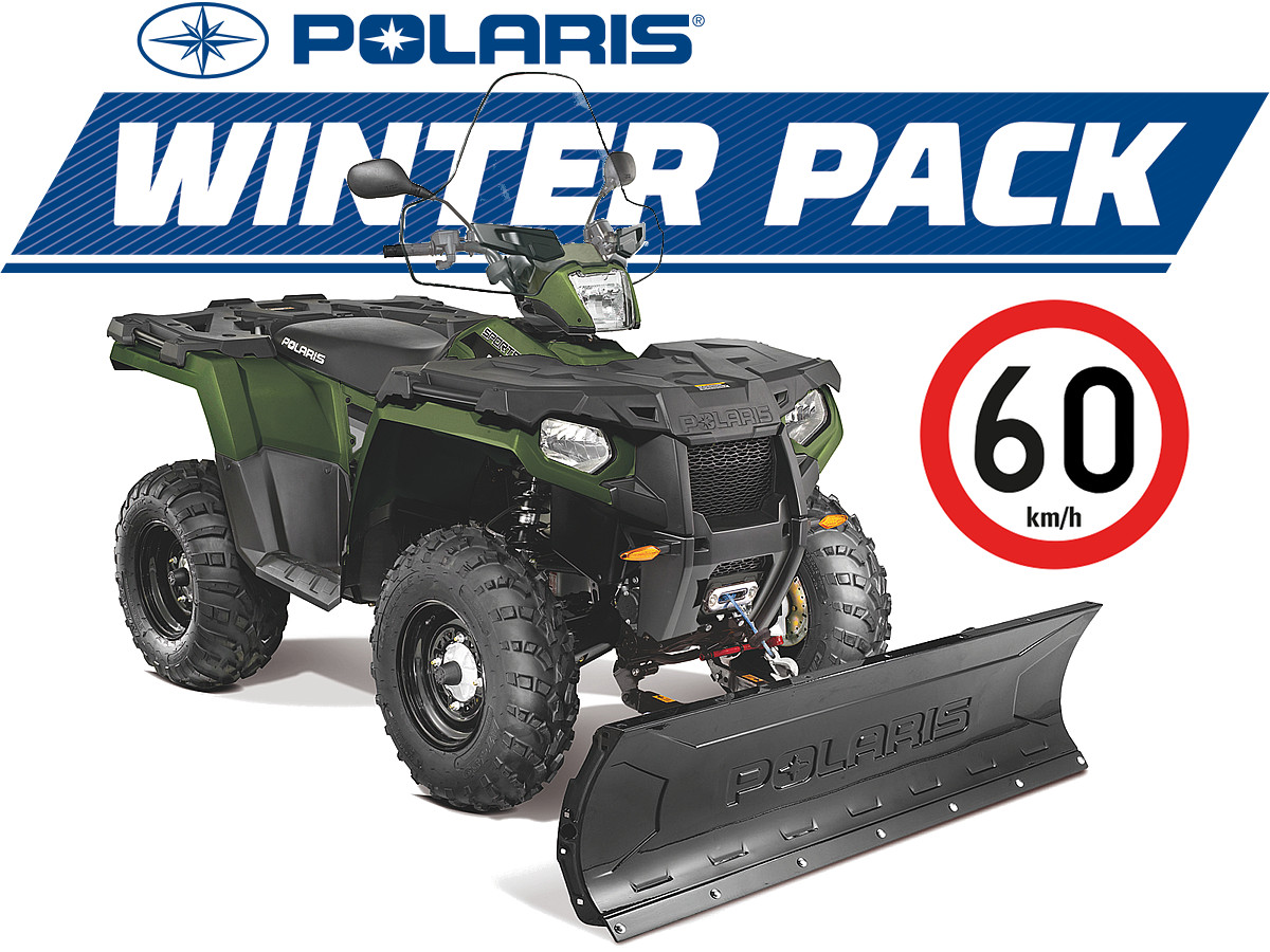 Polaris Sportsman 570 EFI 4x4 Winter Pack